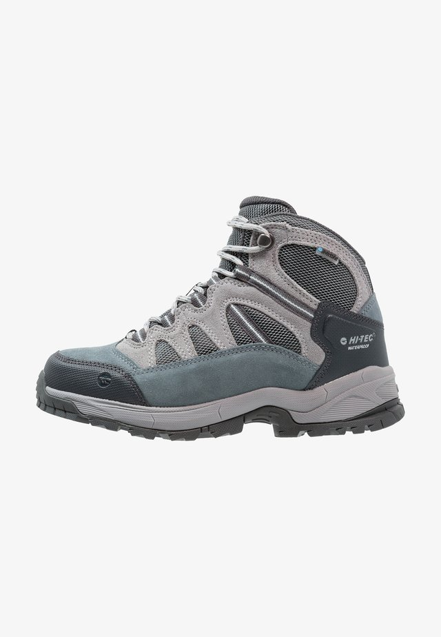BANDERA LITE MID WP WOMENS - Fjellsko - stormy weather/grey/skygrey