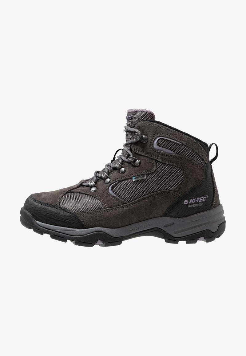 Hi-Tec - STORM WP WOMENS - Hiking shoes - grey/lavender