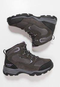 Hi-Tec - STORM WP WOMENS - Hiking shoes - grey/lavender - 1