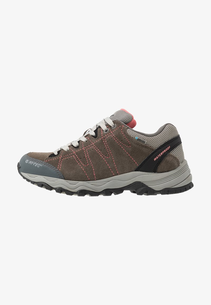 Hi-Tec - LIBERO II WP - Hiking shoes - charcoal/blossom