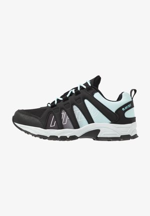 WARRIOR WOMENS - Trekingové boty - charcoal/misty blue