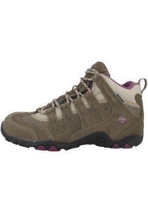Hiking shoes - taupe-plum (o010008-041-01)