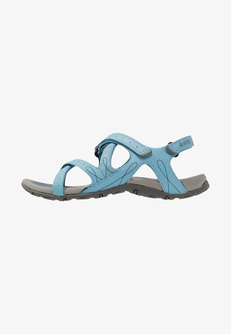 Hi-Tec - WAIMEA FALLS - Walking sandals - flint stone/dusty blue