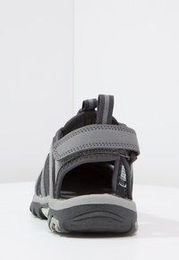 Hi-Tec - COVE  - Walking sandals - grey/charcoal/sprout - 4