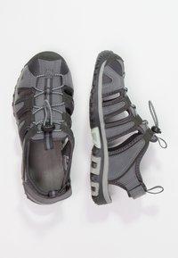 Hi-Tec - COVE  - Walking sandals - grey/charcoal/sprout - 2