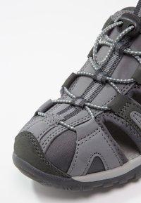 Hi-Tec - COVE  - Walking sandals - grey/charcoal/sprout - 6
