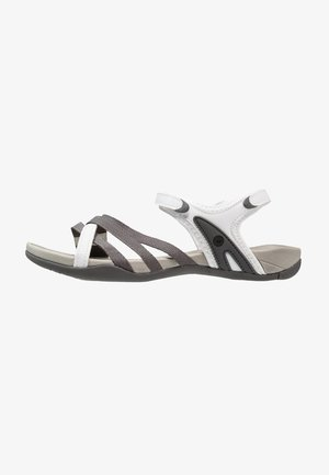 SAVANNA II  - Vaellussandaalit - white/grey