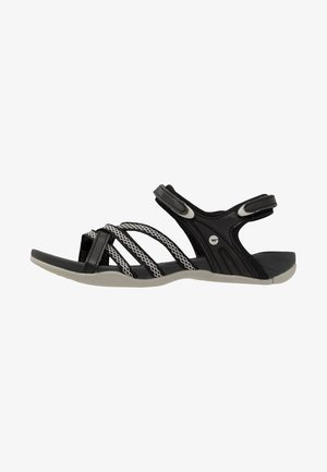 SAVANNA II  - Walking sandals - black/cool grey