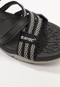 Hi-Tec - SAVANNA II  - Trekkingsandaler - black/cool grey - 5