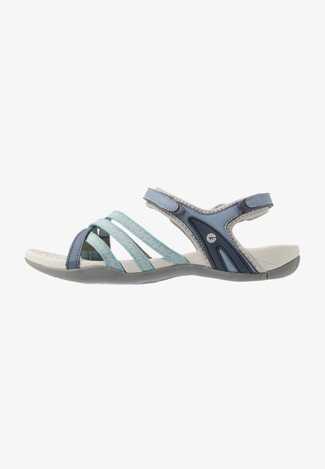 SAVANNA II  - Outdoorsandalen - flinstone/charcoal/dusty blue