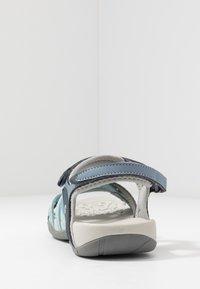 Hi-Tec - SAVANNA II  - Outdoorsandalen - flinstone/charcoal/dusty blue - 3