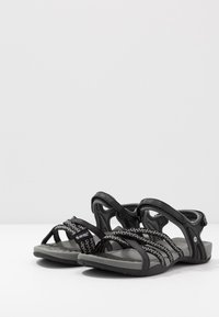 Hi-Tec - SAVANNA II  - Outdoorsandalen - black/charcoal - 2