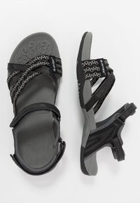 Hi-Tec - SAVANNA II  - Outdoorsandalen - black/charcoal