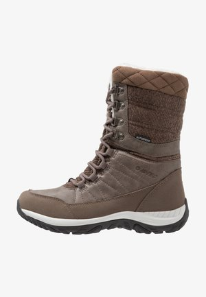 RIVA WP - Winter boots - beige