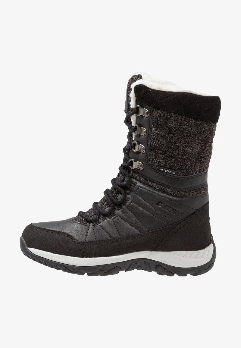Hi-Tec - RIVA WP - Botas para la nieve - black