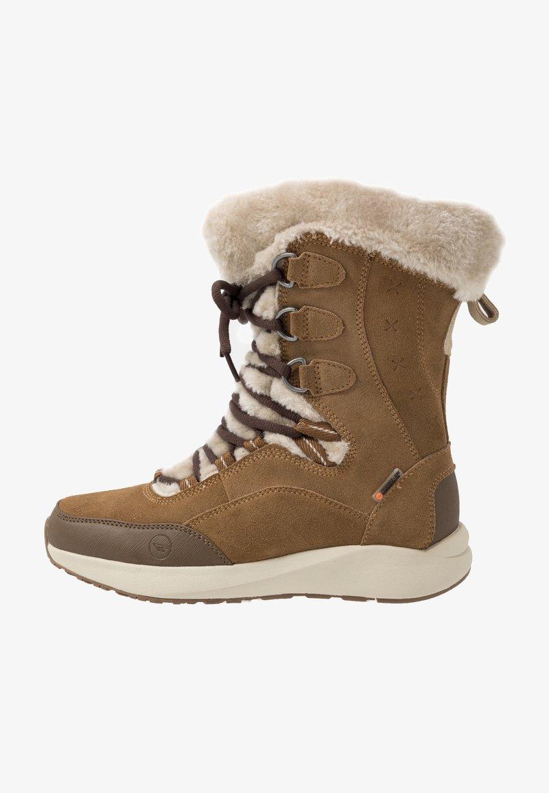 Hi-Tec - RITZY 200 WP - Vinterstøvler - brown/cream