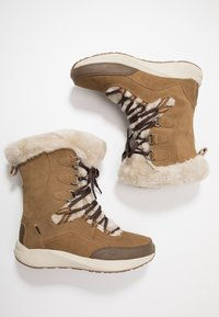 Hi-Tec - RITZY 200 WP - Vinterstøvler - brown/cream - 1