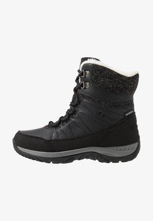 RIVA MID WP - Vinterstøvler - black