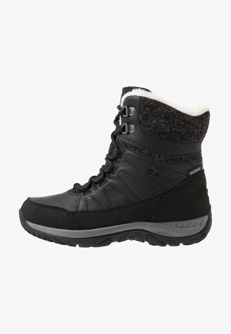 Hi-Tec - RIVA MID WP - Śniegowce - black