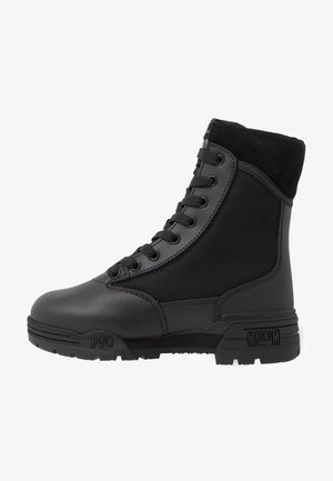MID - Hiking shoes - black