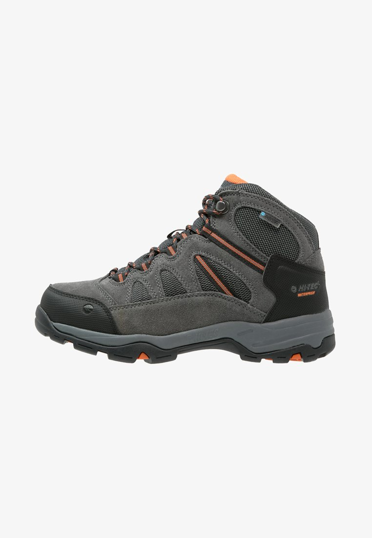 Hi-Tec - BANDERA II WP  - Hiking shoes - charcoal/graphite/burnt orange