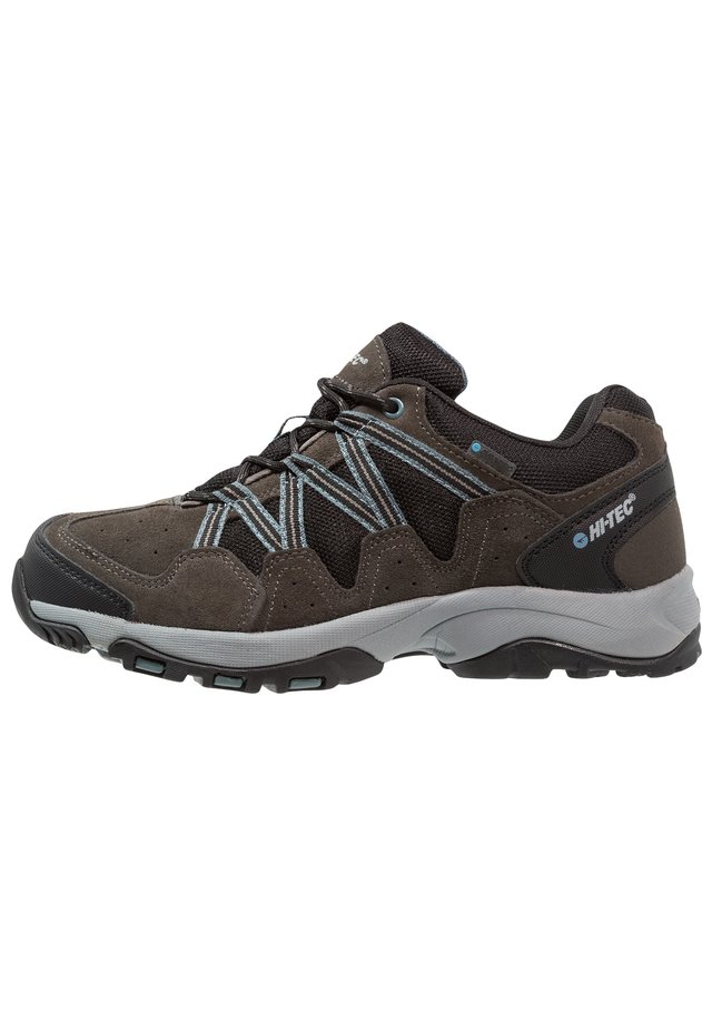RAMBLER WP - Outdoorschoenen - gull grey/black/goblin blue