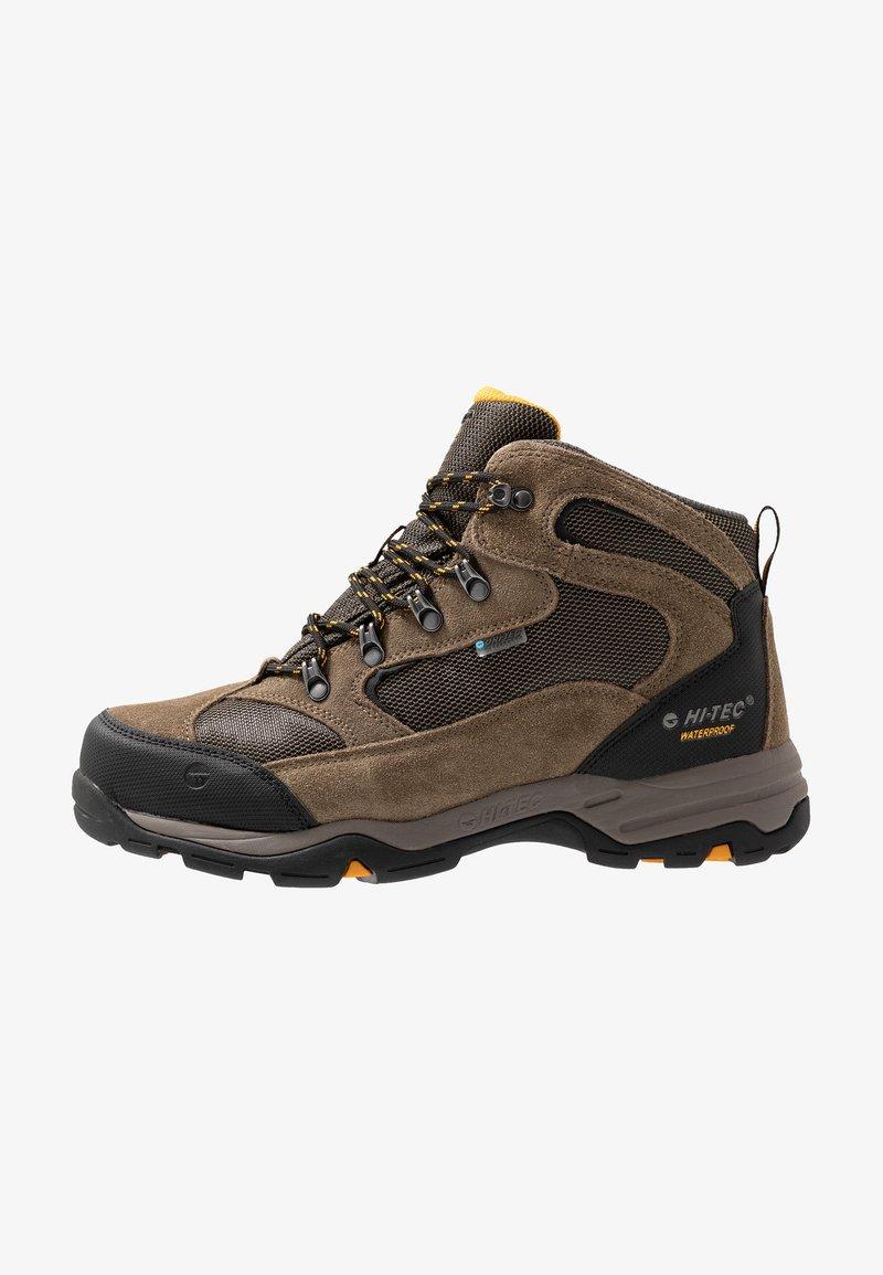 Hi-Tec - STORM WP - Hikingskor - smokey brown/taupe/gold