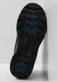 Hi-Tec - STORM WP - Hiking shoes - charcoal/grey/majolica blue - 4
