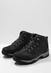 Hi-Tec - STORM WP - Hiking shoes - charcoal/grey/majolica blue - 2