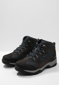 Hi-Tec - STORM WP - Obuwie hikingowe - charcoal/grey/majolica blue - 2