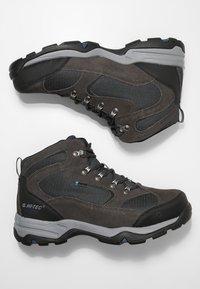 Hi-Tec - STORM WP - Hiking shoes - charcoal/grey/majolica blue - 1