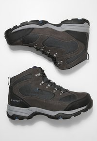 Hi-Tec - STORM WP - Obuwie hikingowe - charcoal/grey/majolica blue - 1