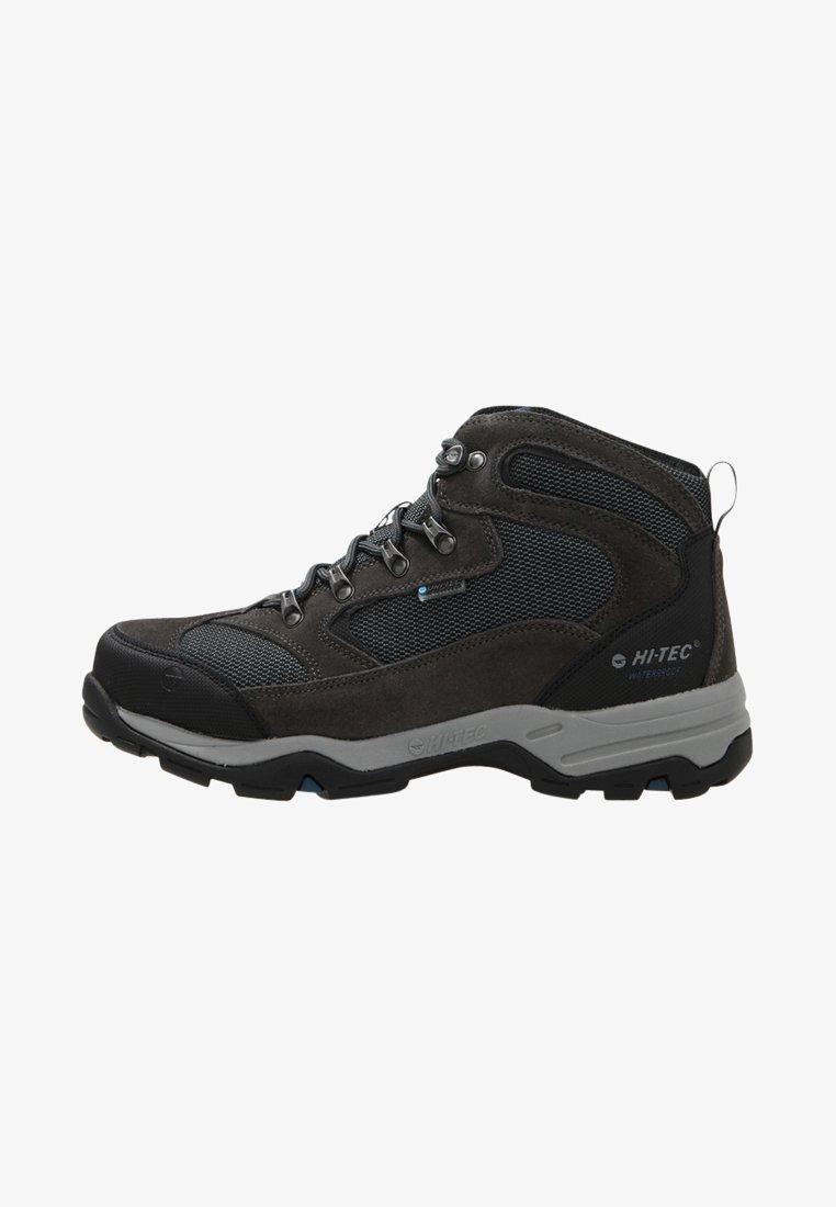 Hi-Tec - STORM WP - Hiking shoes - charcoal/grey/majolica blue