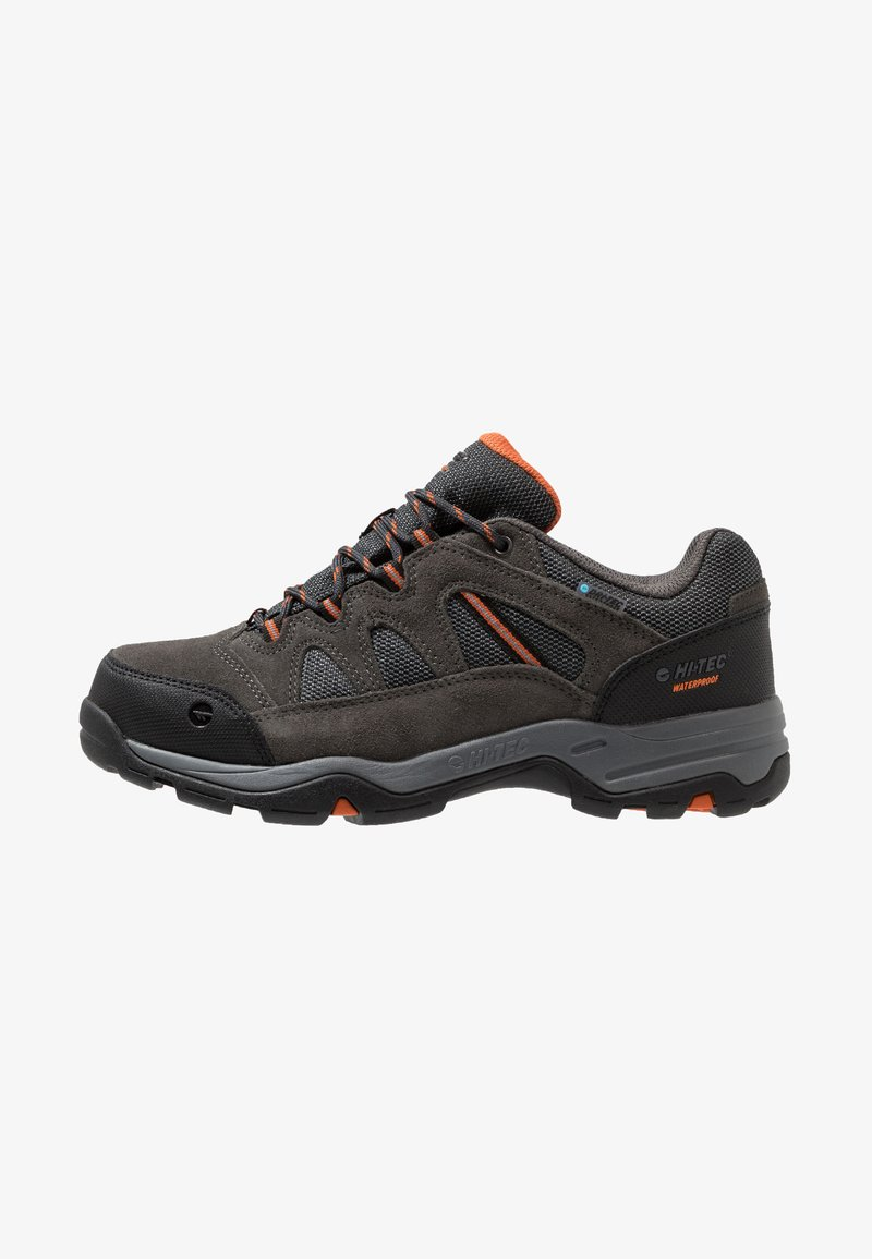 Hi-Tec - BANDERRA II LOW WP - Hikingskor - charcoal/graphite/burnt orange