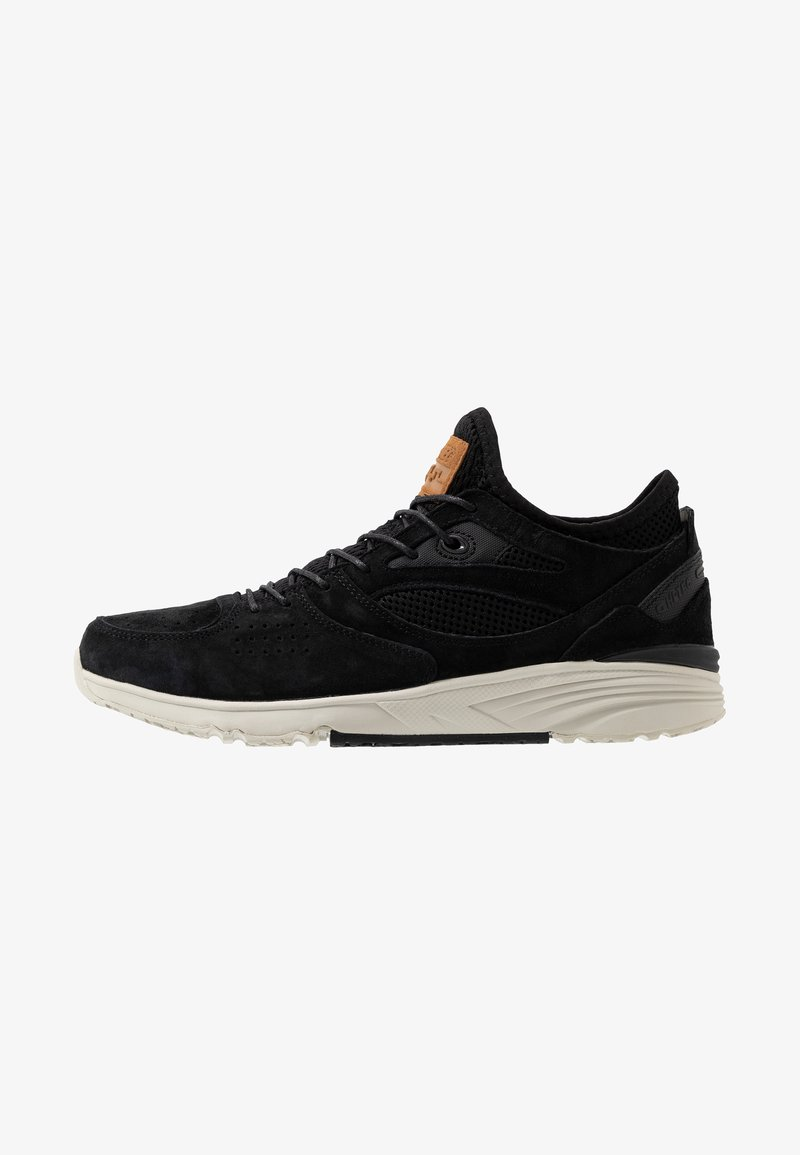 Hi-Tec - X-PRESS LOW - Walking trainers - black/steel grey
