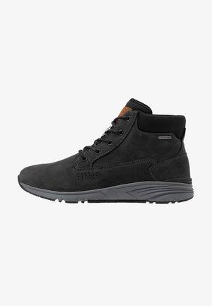 X-HAIL MID LUX WP - Chaussures de marche - black/grey