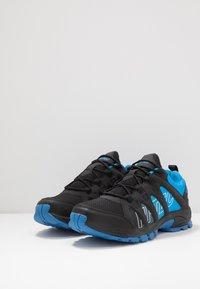 Hi-Tec - WARRIOR - Hiking shoes - black/blue - 2