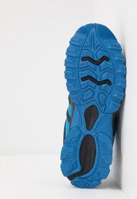 Hi-Tec - WARRIOR - Hiking shoes - black/blue - 4