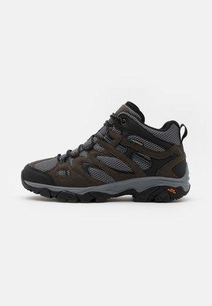 RAVUS VENT LITE MID WATERPROOF - Hiking shoes - charcoal/cool grey/dark slate