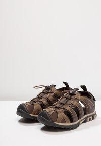 Hi-Tec - COVE BREEZE - Sandały trekkingowe - chocolate/brown/burnt orange/multicolor - 2