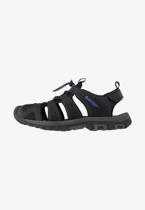 COVE BREEZE - Chodecké sandály - black/cobalt blue