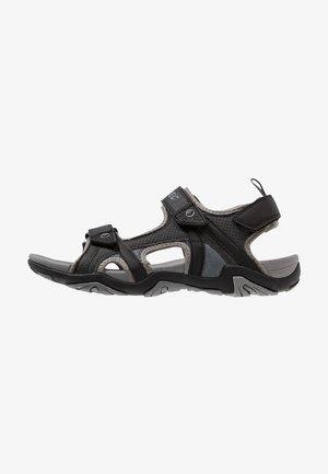 CRATER - Walking sandals - charcoal/cool grey