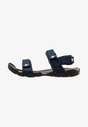 CANCUN - Chodecké sandály - navy/grey
