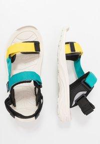 Hi-Tec - ULA RAFT - Sandały trekkingowe - blazing yellow/navigate - 1