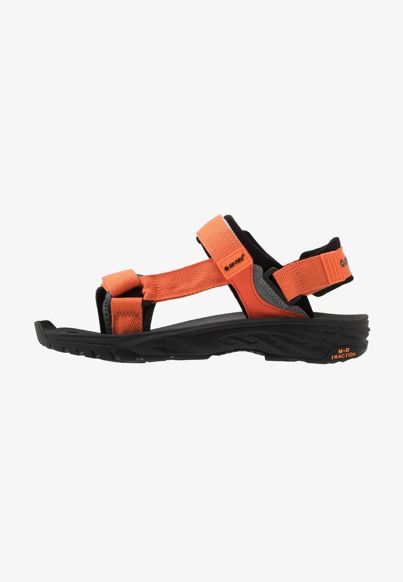 Hi-Tec - ULA RAFT - Sandały trekkingowe - red/black
