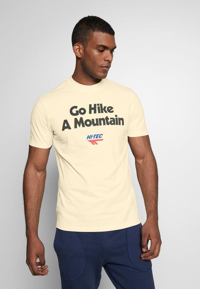 ANTON - T-shirt print - soya