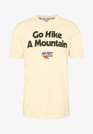 ANTON - T-shirt med print - soya