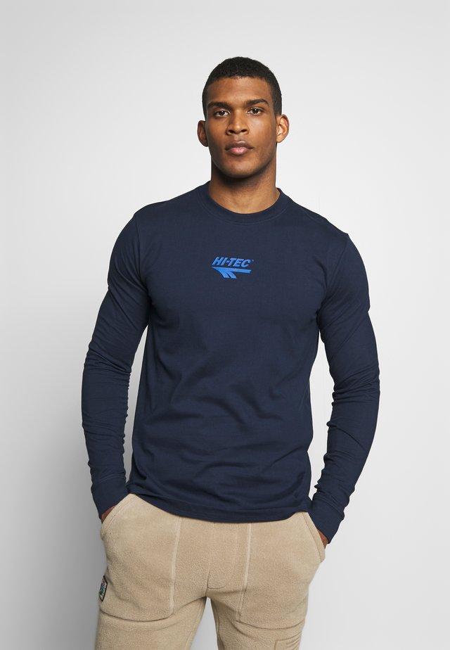 SERGE - Långärmad tröja - navy