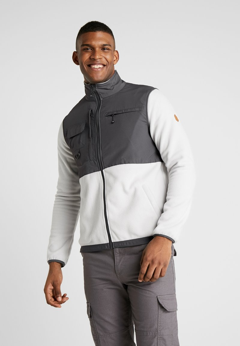 Hi-Tec - KIKER - Fleecová bunda - quiet grey melange/gunmetal