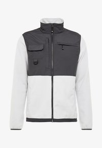 Hi-Tec - KIKER - Fleecová bunda - quiet grey melange/gunmetal - 4
